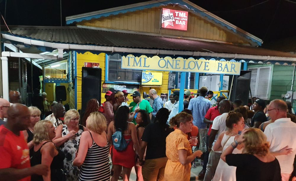 TML One Love Bar in Holetown, Barbados