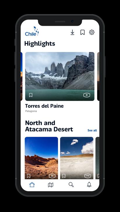 Chile 360 mobile app